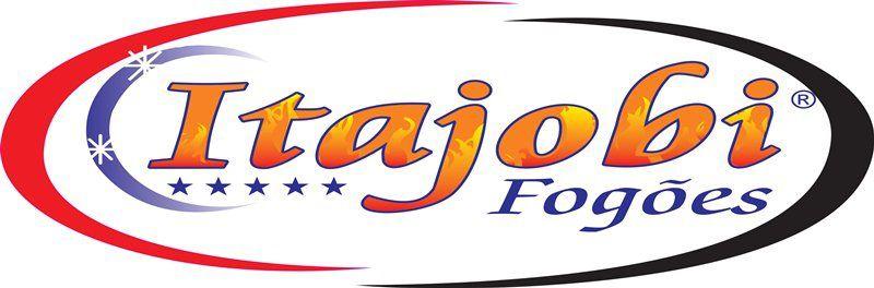 Fogão 4 Bocas Economic Ativo 30x30 Itajobi Fogões c/ Forno Tampa Inox 47 Litros  - Carmel Equipamentos