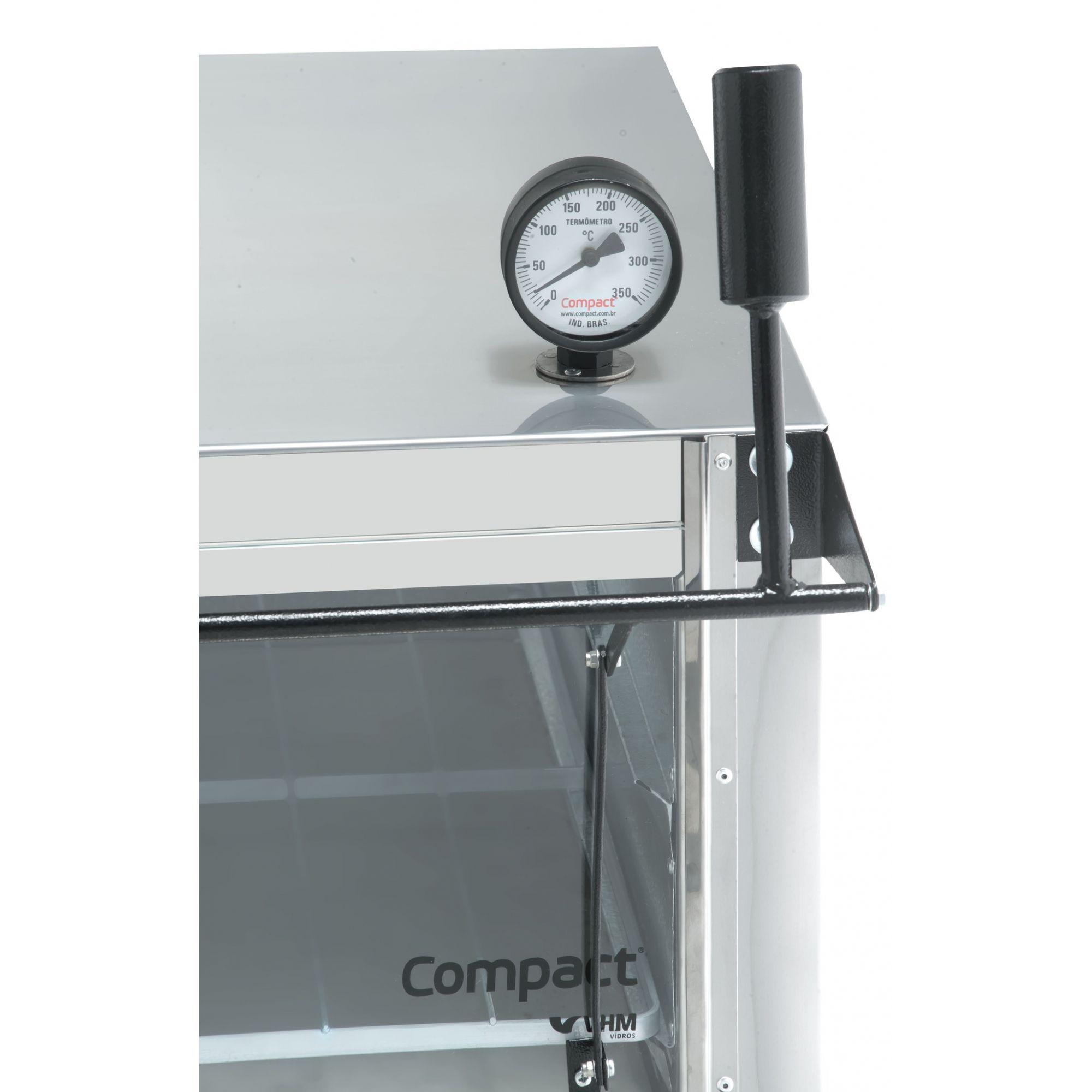 Forno de Lastro a Gás em Inox Compact - FL900  - Carmel Equipamentos