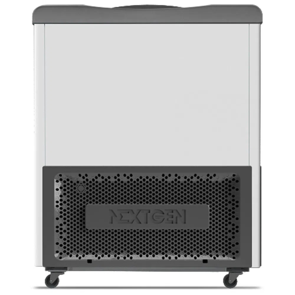 Freezer Horizontal Expositor Tampa de Vidro Nextgen Supra Branco NF30S 284 Litros - Metalfrio  - Carmel Equipamentos