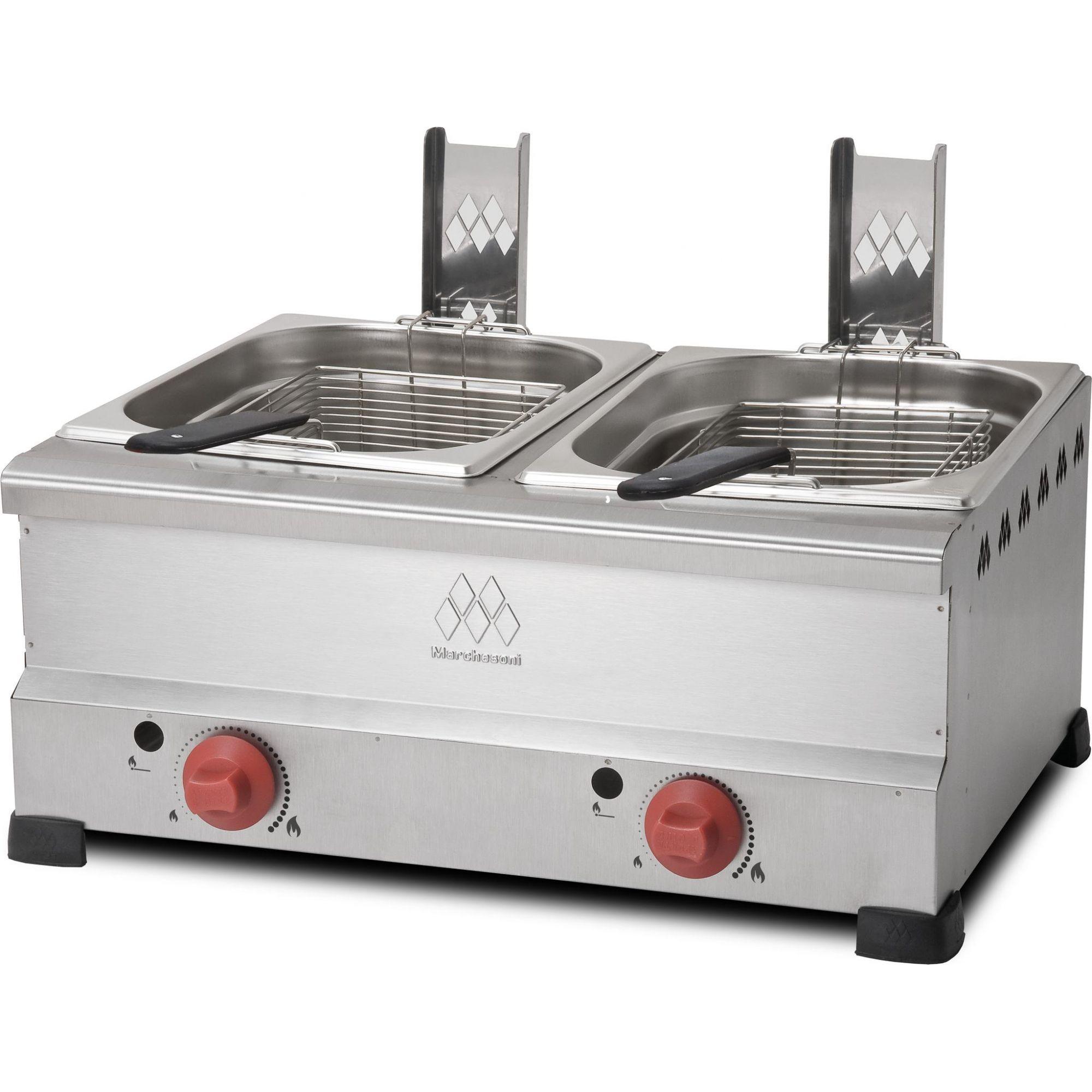 Fritadeira a Gás Marchesoni 12 litros - FT4628  - Carmel Equipamentos