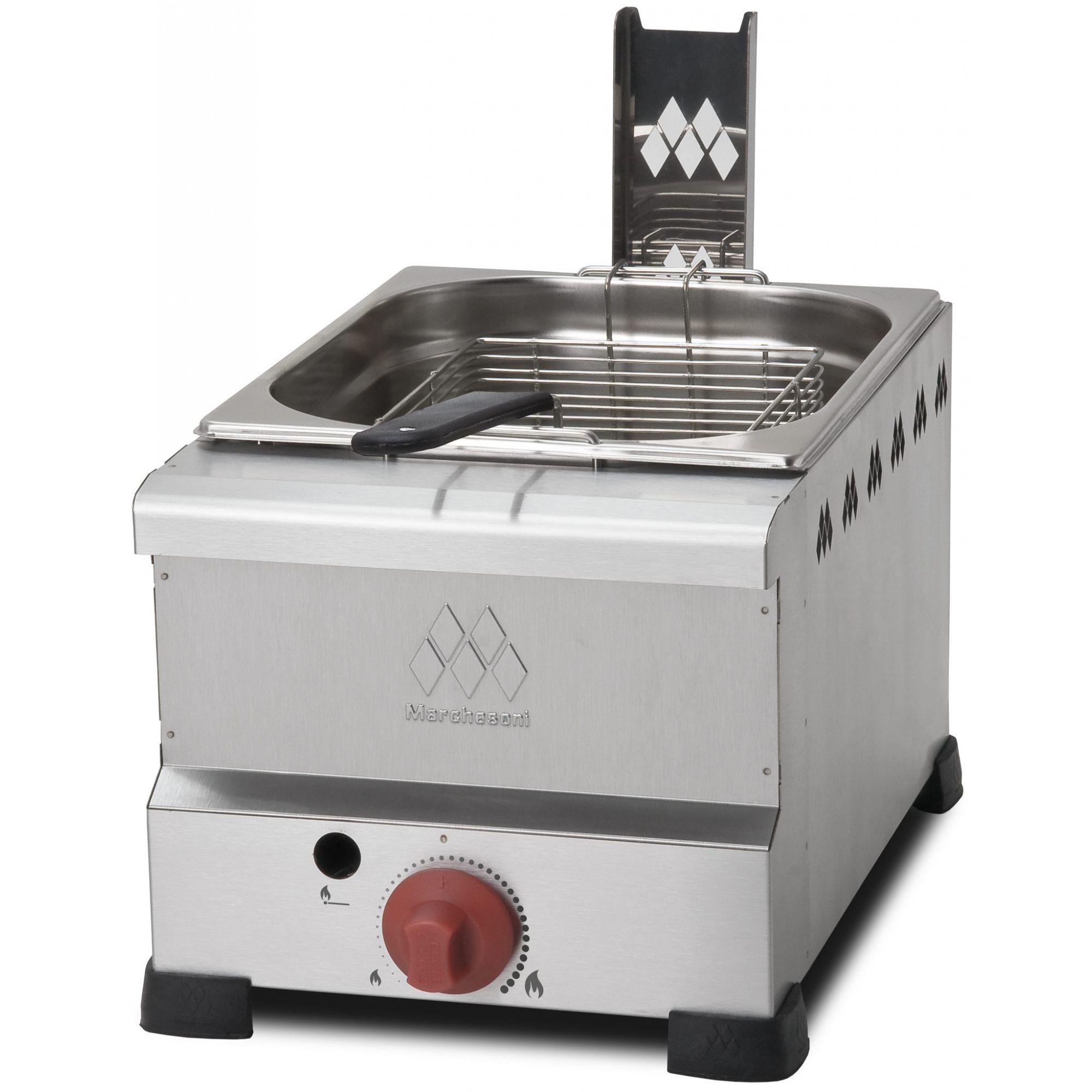 Fritadeira a Gás Marchesoni 6 litros - FT.4.608  - Carmel Equipamentos