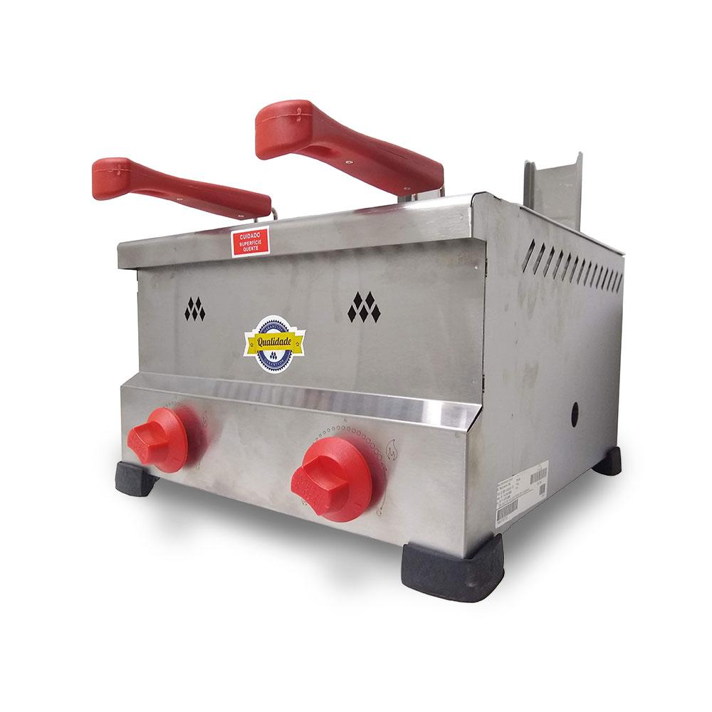 Fritadeira a Gás Marchesoni 8 litros - FT4428  - Carmel Equipamentos