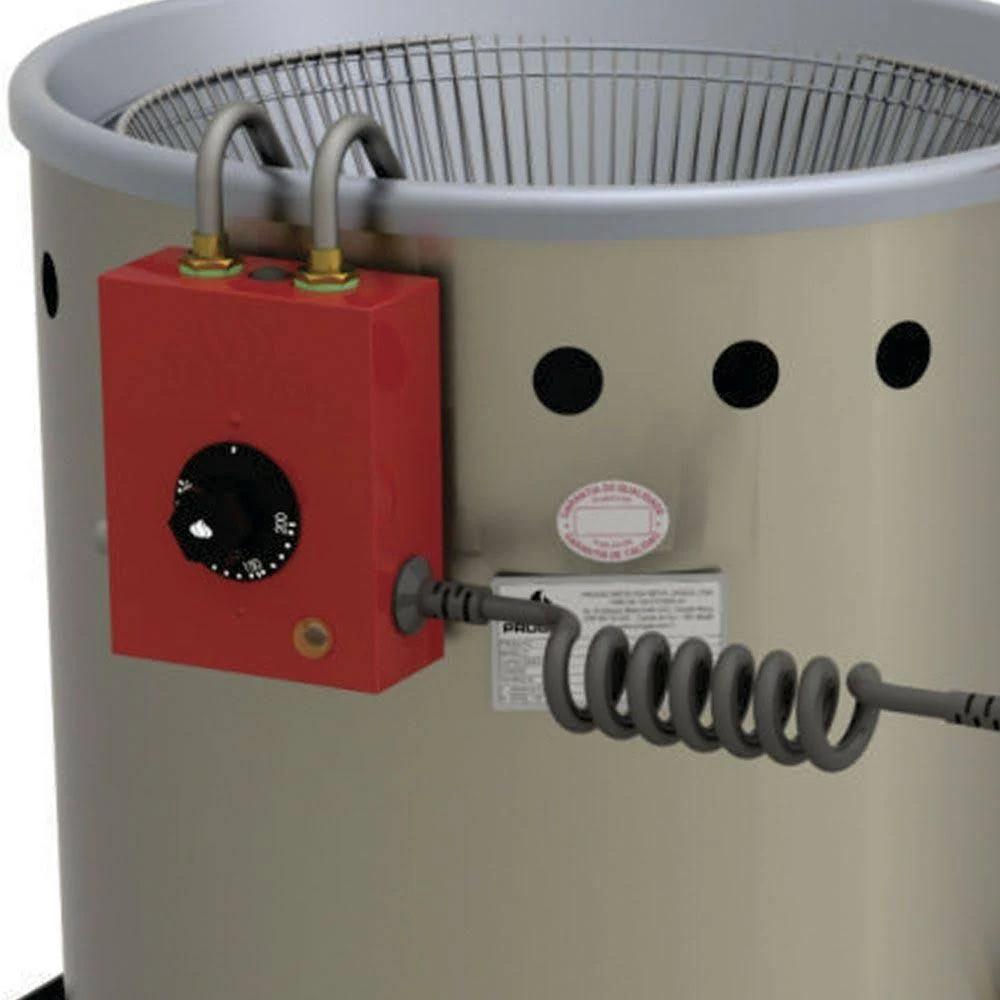Fritadeira de Salgados Água e Óleo Elétrica Estrutura Inox Escovado 12 Litros - Progás  - Carmel Equipamentos