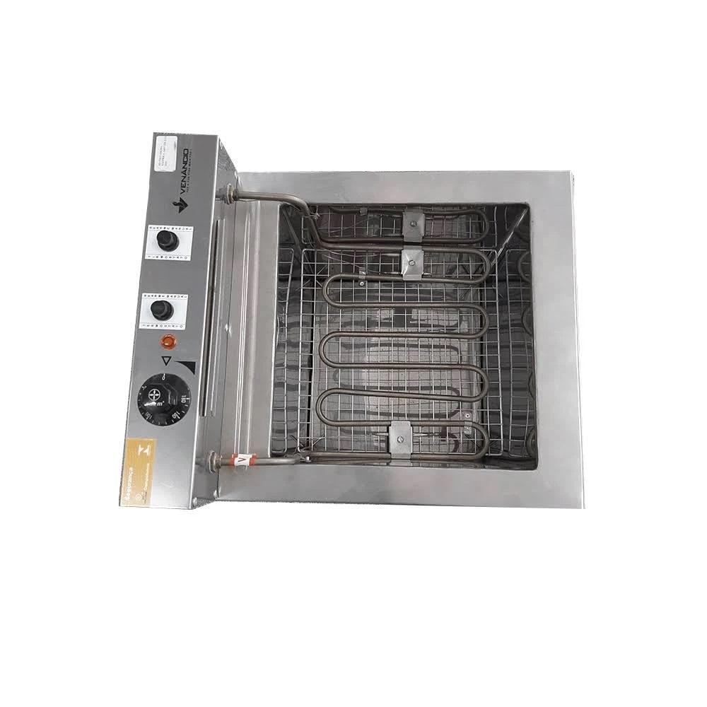 Fritadeira Elétrica Industrial Gabinete 23 Litros Fritador Água e Óleo SFAO5 - Venâncio  - Carmel Equipamentos