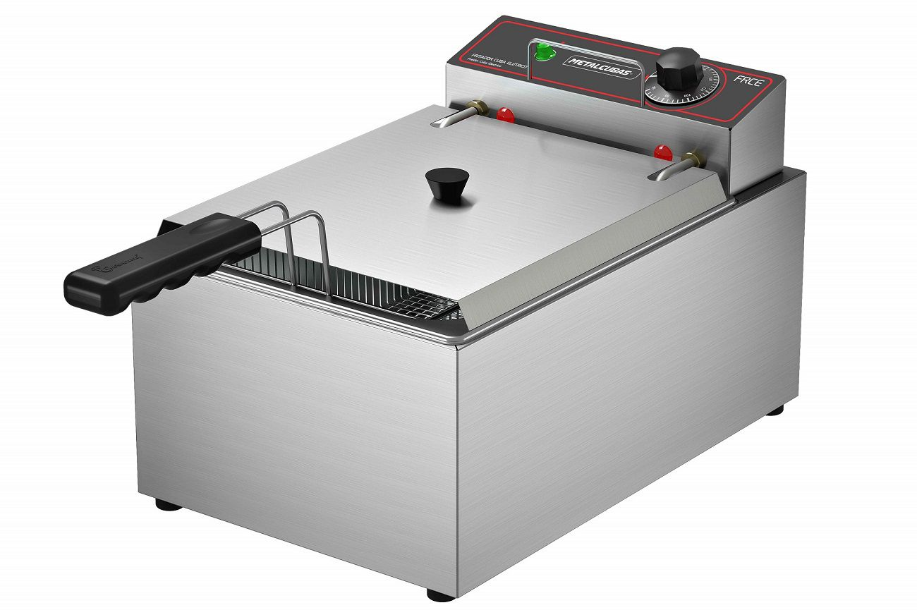 Fritadeira Industrial Elétrica 5 Litros Metalcubas - FRCE 5  - Carmel Equipamentos