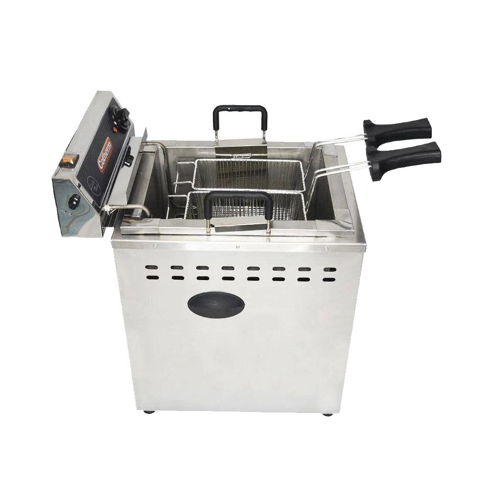 Fritadeira Industrial Elétrica Água e Óleo 18 Litros Turbo Mesa 8000 W - Cotherm  - Carmel Equipamentos