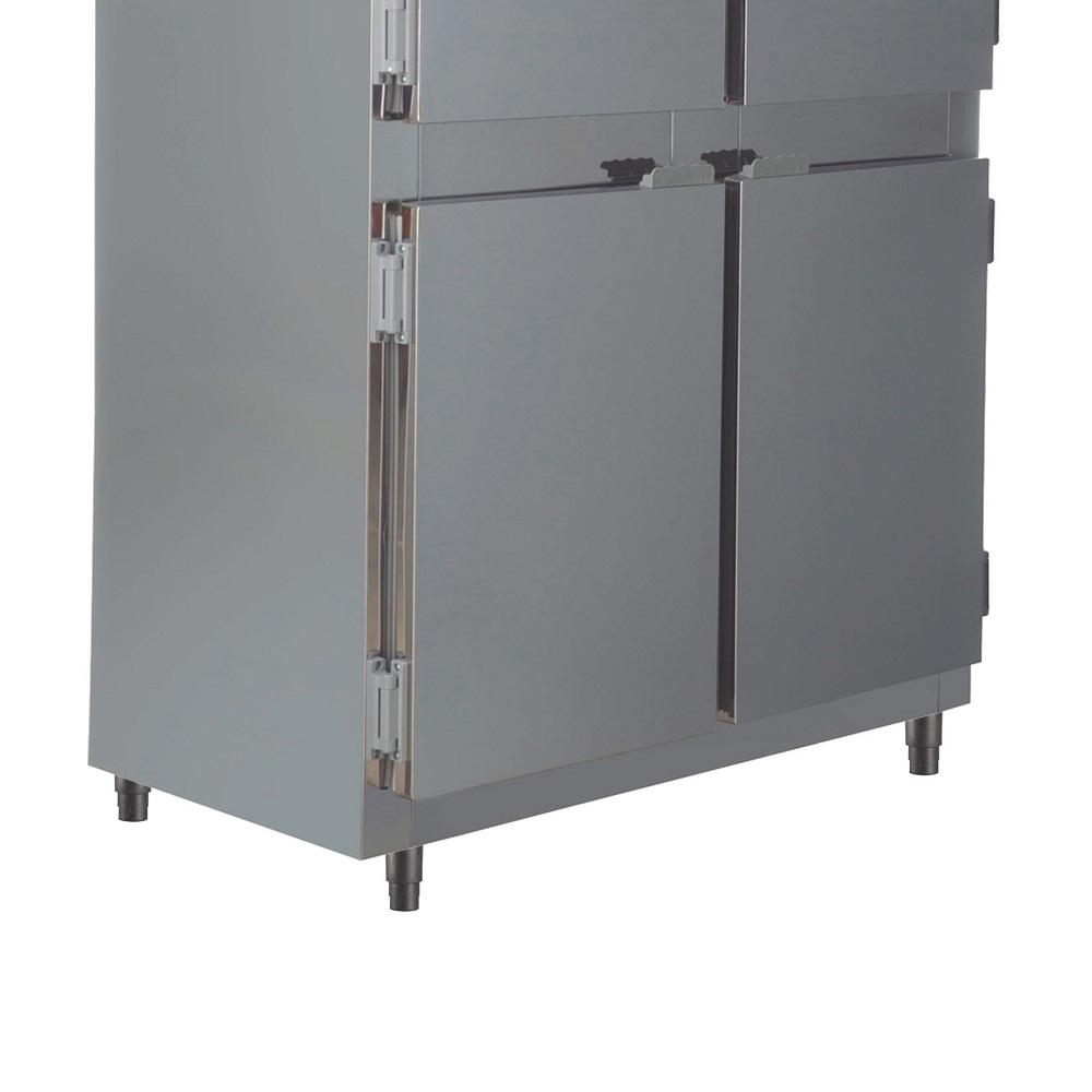 Geladeira Refrigerador Industrial Inox 4 Portas Cegas 675 Litros RF-064E Frilux  - Carmel Equipamentos