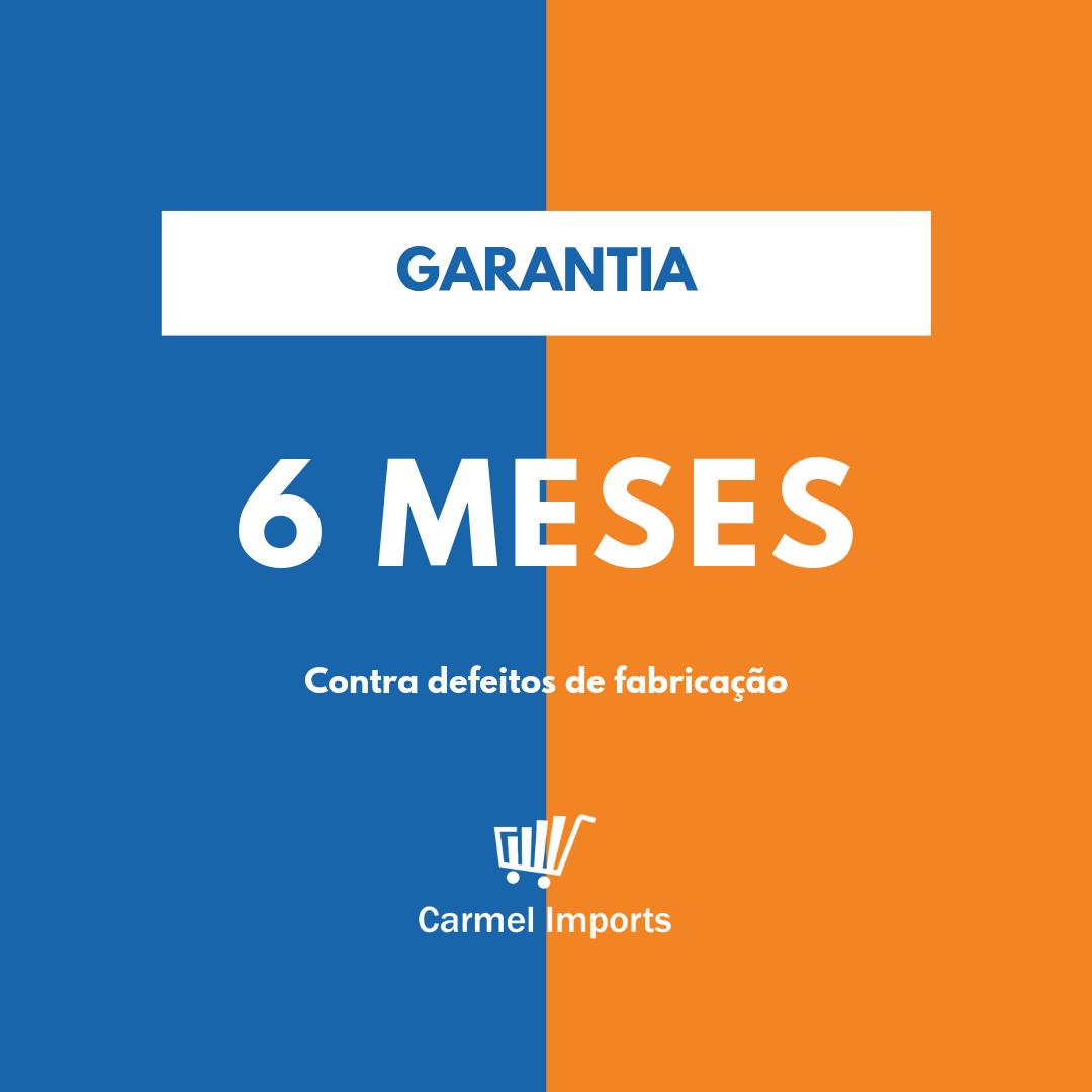 Gôndola Lateral Parede 2 Metros 1 Inicial e 1 Continuação Amapá Azul  - Carmel Equipamentos