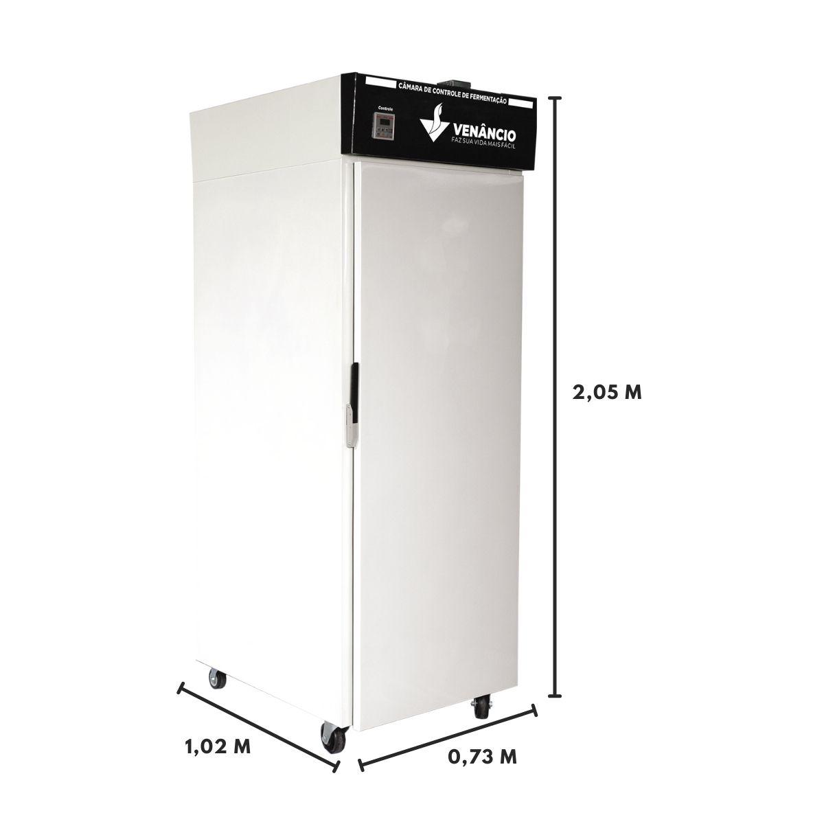 Kit Armário de Controle De Fermentação de Crescimento AC20T 220 V Venâncio Com 20 Esteiras 5 Tiras 58X70 Innal  - Carmel Equipamentos