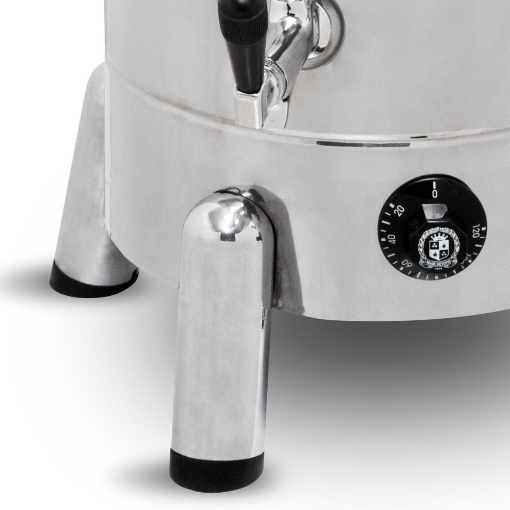 Kit Cafeteira Tradicional 4 Litros 1300 W + Esterilizador 3 Bules Com Termostato - Marchesoni - 220 V  - Carmel Equipamentos