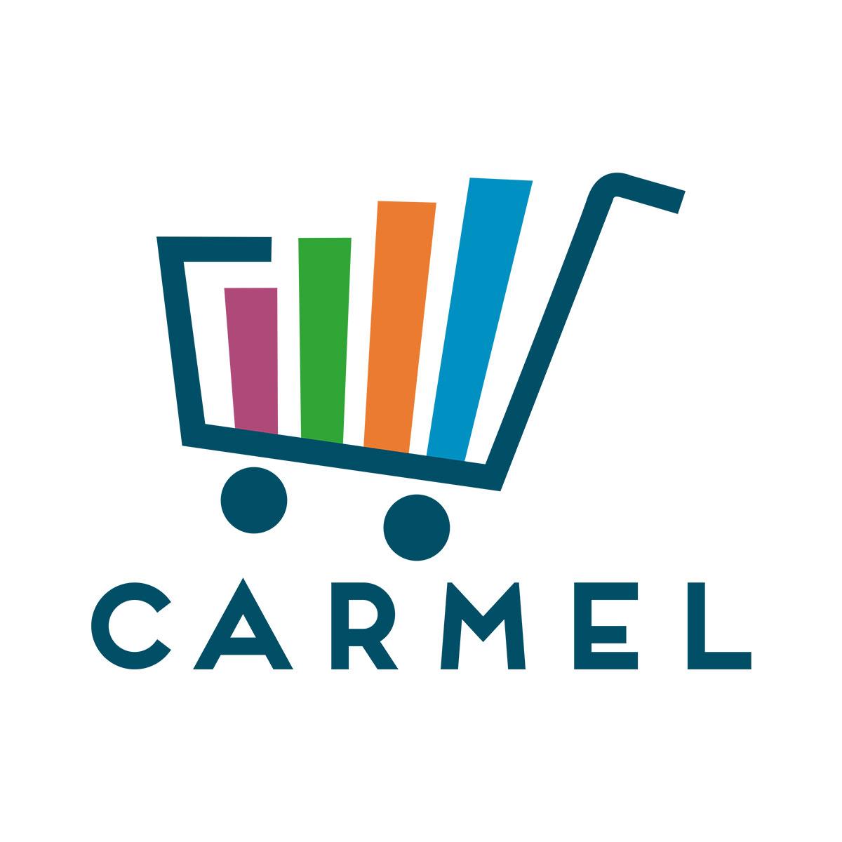 Kit Com 10 Porta Etiquetas Azul Para Gondola Premium Lx De 92 Cm - Amapá  - Carmel Equipamentos