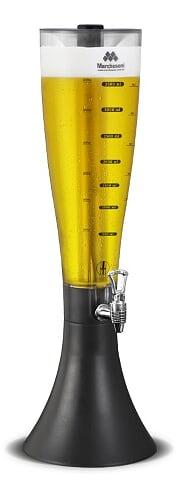Kit com 5 Torres de Chopp MarcBeer Marchesoni 2,5 Litros - Mb2250  - Carmel Equipamentos