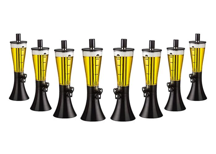 Kit com 8 Torres de Chopp Marcbeer 1,5 Litros - Marchesoni  - Carmel Equipamentos