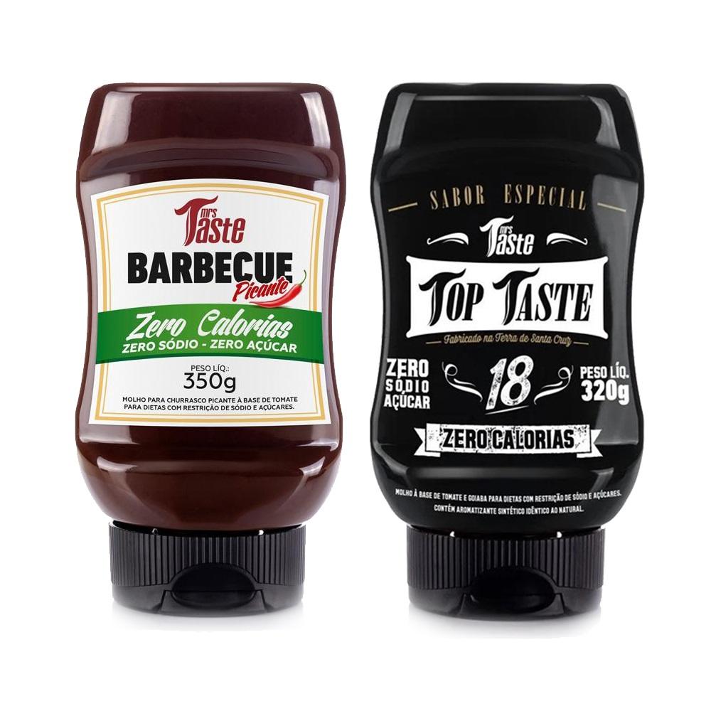 Kit Lanche Churrasco Barbecue Picante e Top Taste Mrs Taste  - Carmel Equipamentos