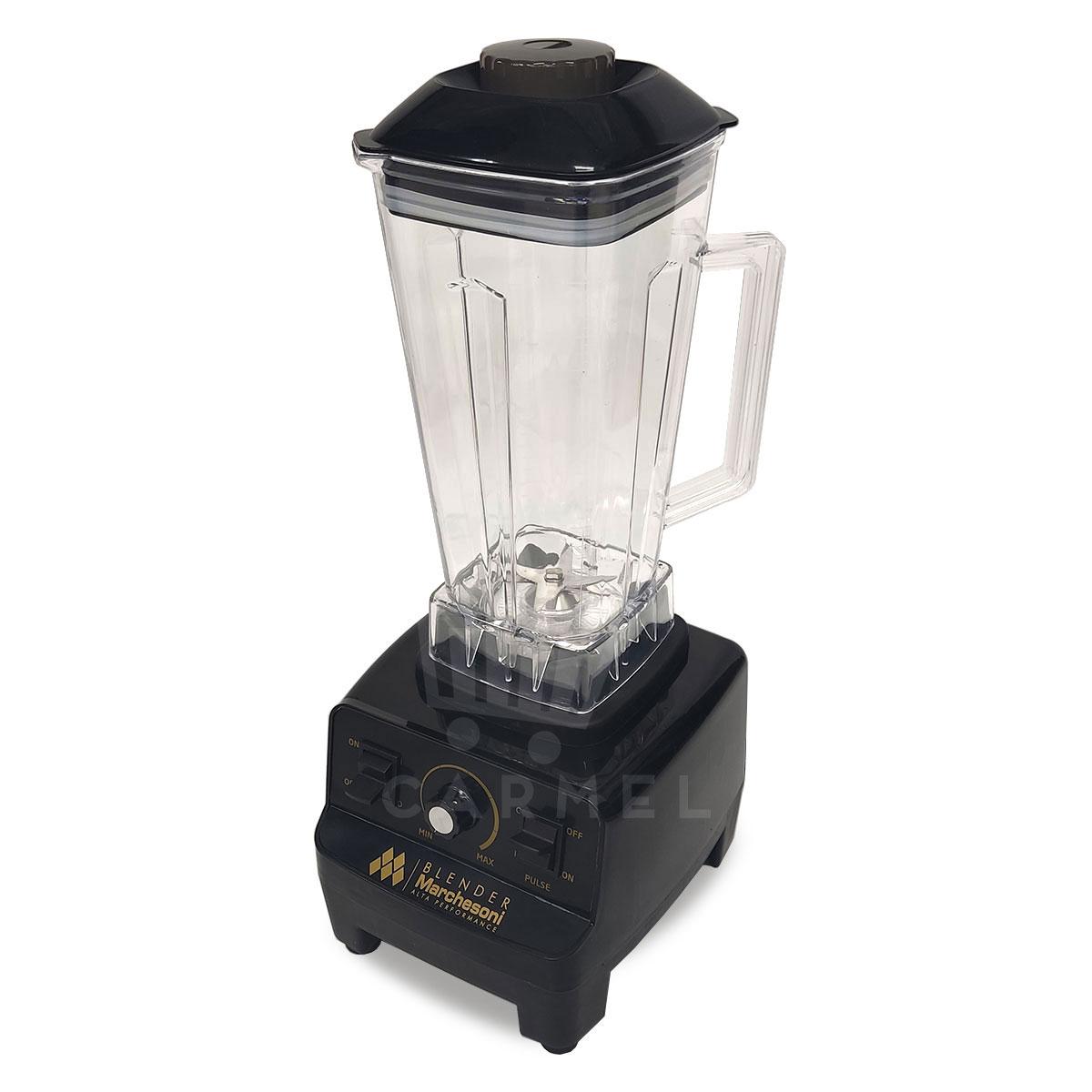 Liquidificador 2 Litros Blender Alta Performance 1400 W Preto Marchesoni