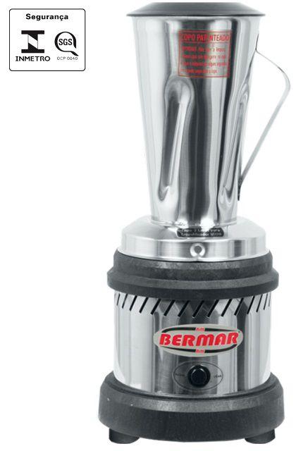 Liquidificador Industrial 2 Litros Alta Rotação 800W - BM41/47 - Bermar  - Carmel Equipamentos