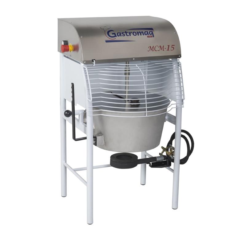 Máquina de Cozimento e Misturadora MCM15 Gastromaq Misturela 15 Kgs  - Carmel Equipamentos