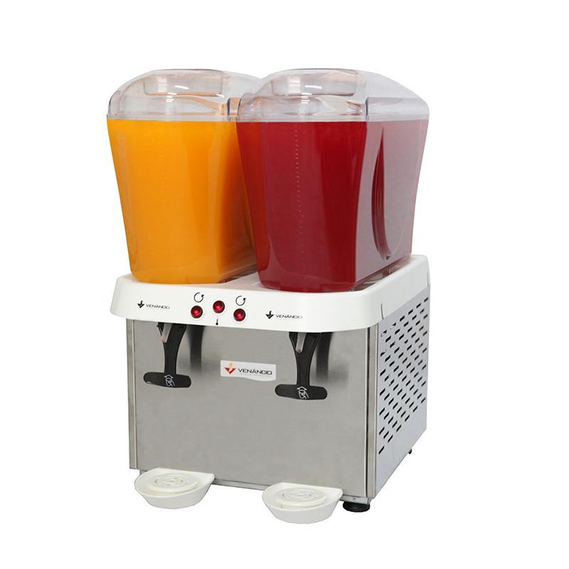 Máquina de Suco Refresqueira Venâncio RV216 Inox 2 Reservatórios 16 Litros  - Carmel Equipamentos