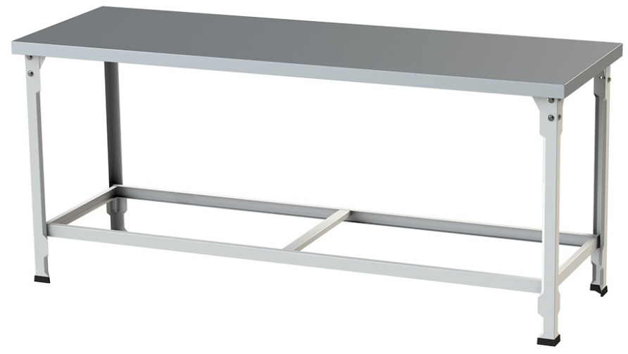Mesa 120x60 Com Tampo Em Aço Inox E Estrutura Epóxi - Itajobi Fogões  - Carmel Equipamentos