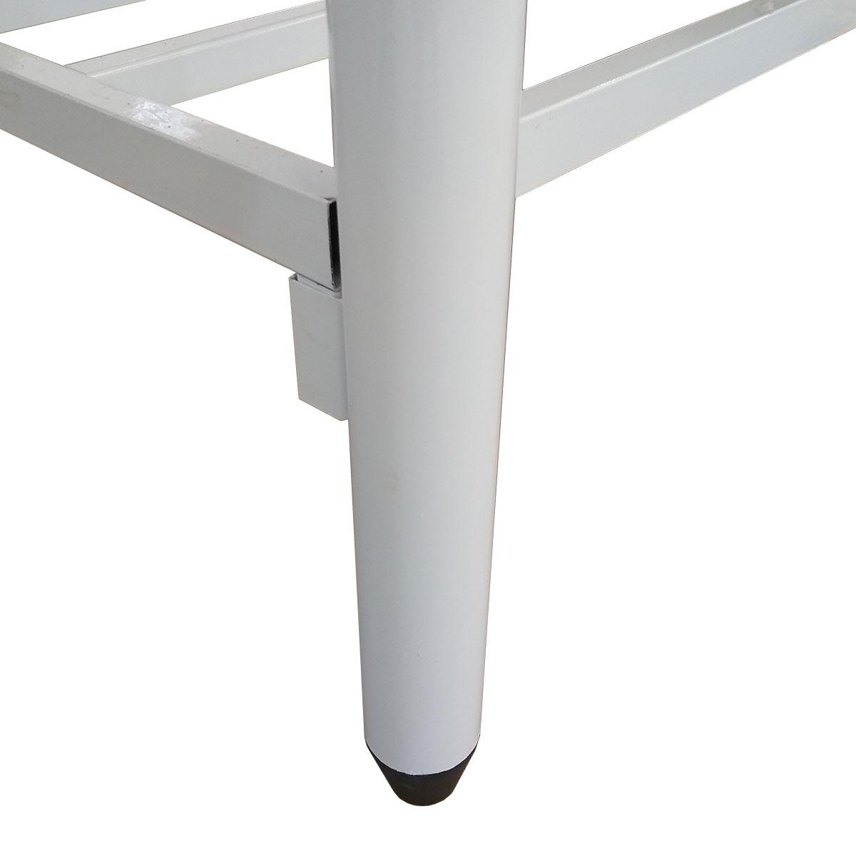 Mesa Em Inox Innal 140x70 com Prateleira Grade - Innal  - Carmel Equipamentos