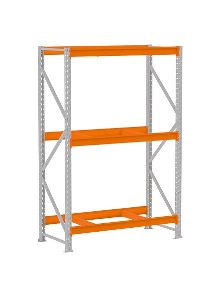 Mini Porta Pallet Inicial 500KG 2,00x1,80x0,60 - MPP 500 Amapá  - Carmel Equipamentos