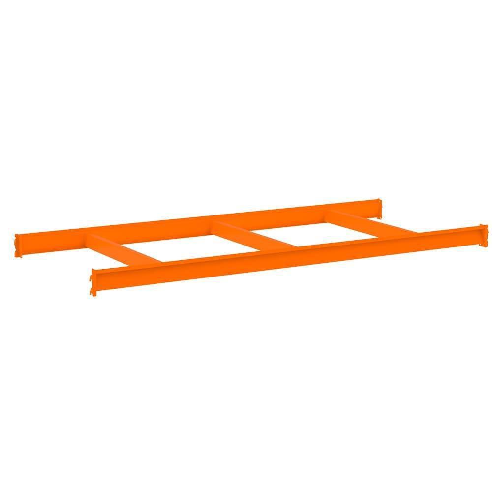 Mini Porta Pallet MPP500 Kg Kit Continuação Lx 2,00 x 1,80 x 0,60 Com 3 Níveis Laranja Sem Bandeja - Amapá  - Carmel Equipamentos