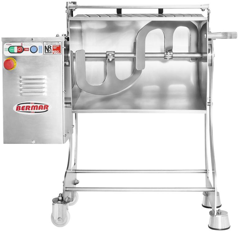 Misturadeira De Carne 60 Litros 1,25 CV Inox - BM99 - Bermar  - Carmel Equipamentos