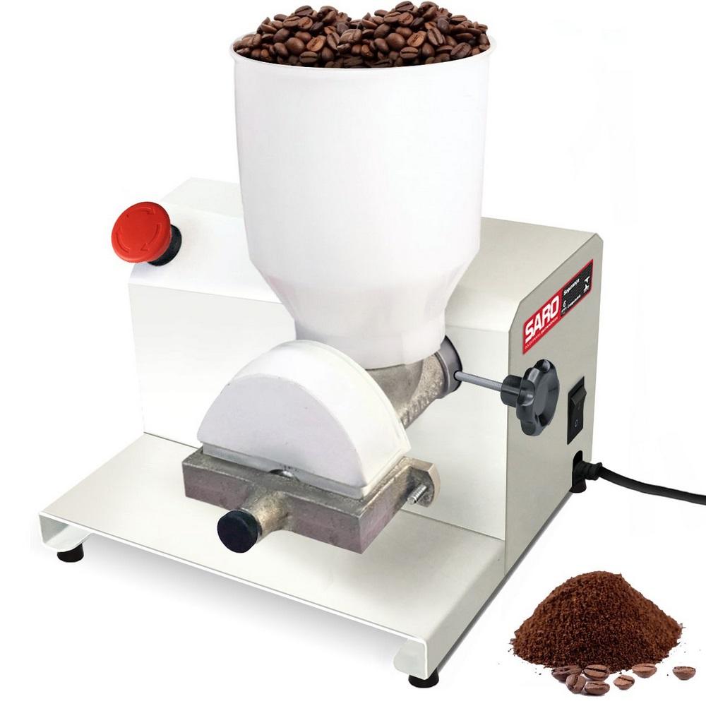 Moedor de Café e Grãos Secos Elétrico 1/3Cv Epoxi MEG Bivolt - Saro