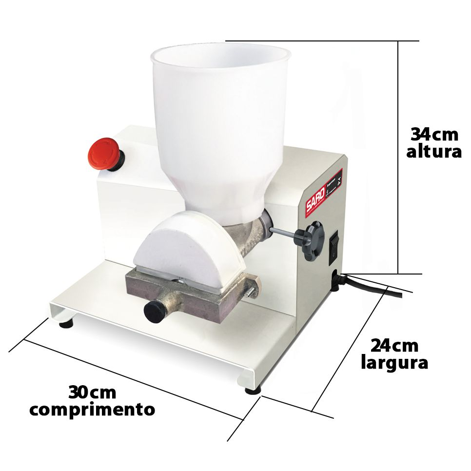 Moedor de Café e Grãos Secos Elétrico 1/3Cv Epoxi MEG Bivolt - Saro  - Carmel Equipamentos