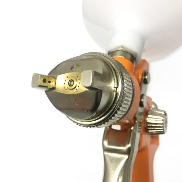 Pistola HVLP Intech Machine P827  - Carmel Equipamentos