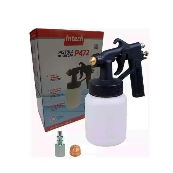 Pistola Pintura Ar Direto Intech Machine P472  - Carmel Equipamentos