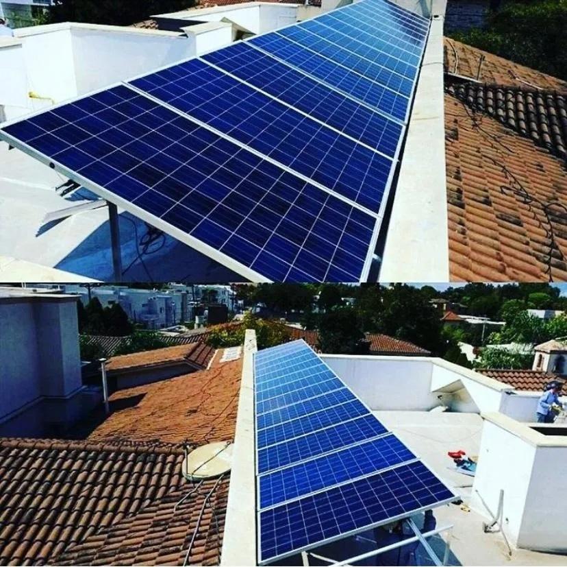Placa Painel Modulo Solar Fotovoltaico Energia Painel Solar 330W Policristalino - Dah Solar  - Carmel Equipamentos