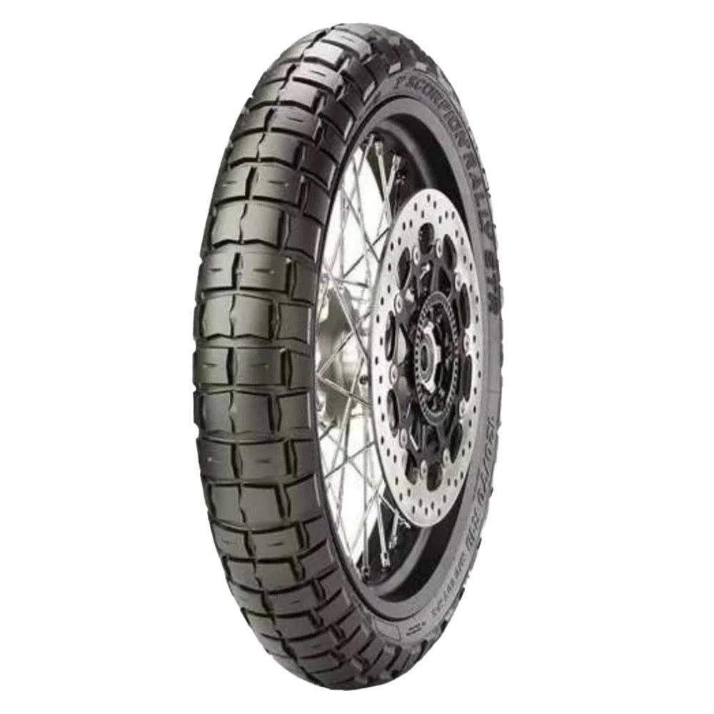 Pneu Pirelli 110/80R19 Scorpion Rally Str (Tl)  59Vm+S (Dianteiro)  - Carmel Equipamentos