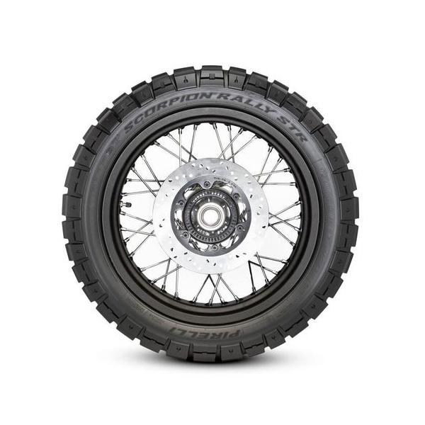 Pneu Pirelli 150/70R18 Scorpion Rally Str (Tl)  70Vm+S (Traseiro)  - Carmel Equipamentos