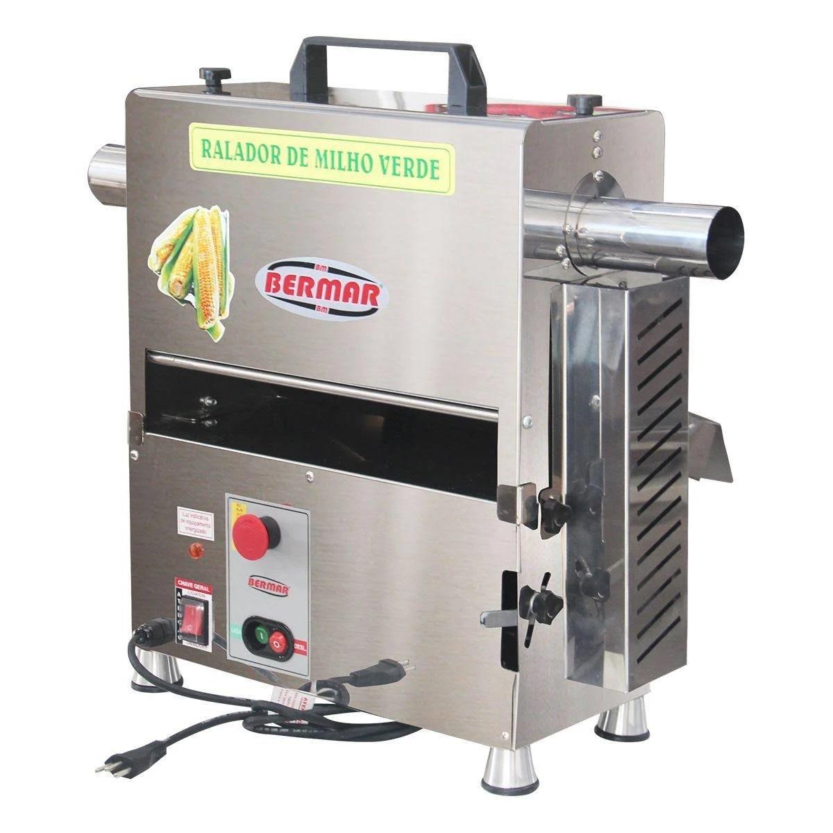 Ralador de Milho Verde 130 KG/H Bermar - BM91NR  - Carmel Equipamentos