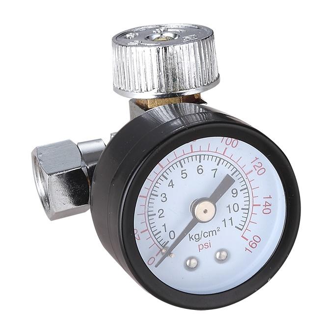 Regulador de Ar com Manômetro 1/4 110L/min - Intech Machine RA250  - Carmel Equipamentos