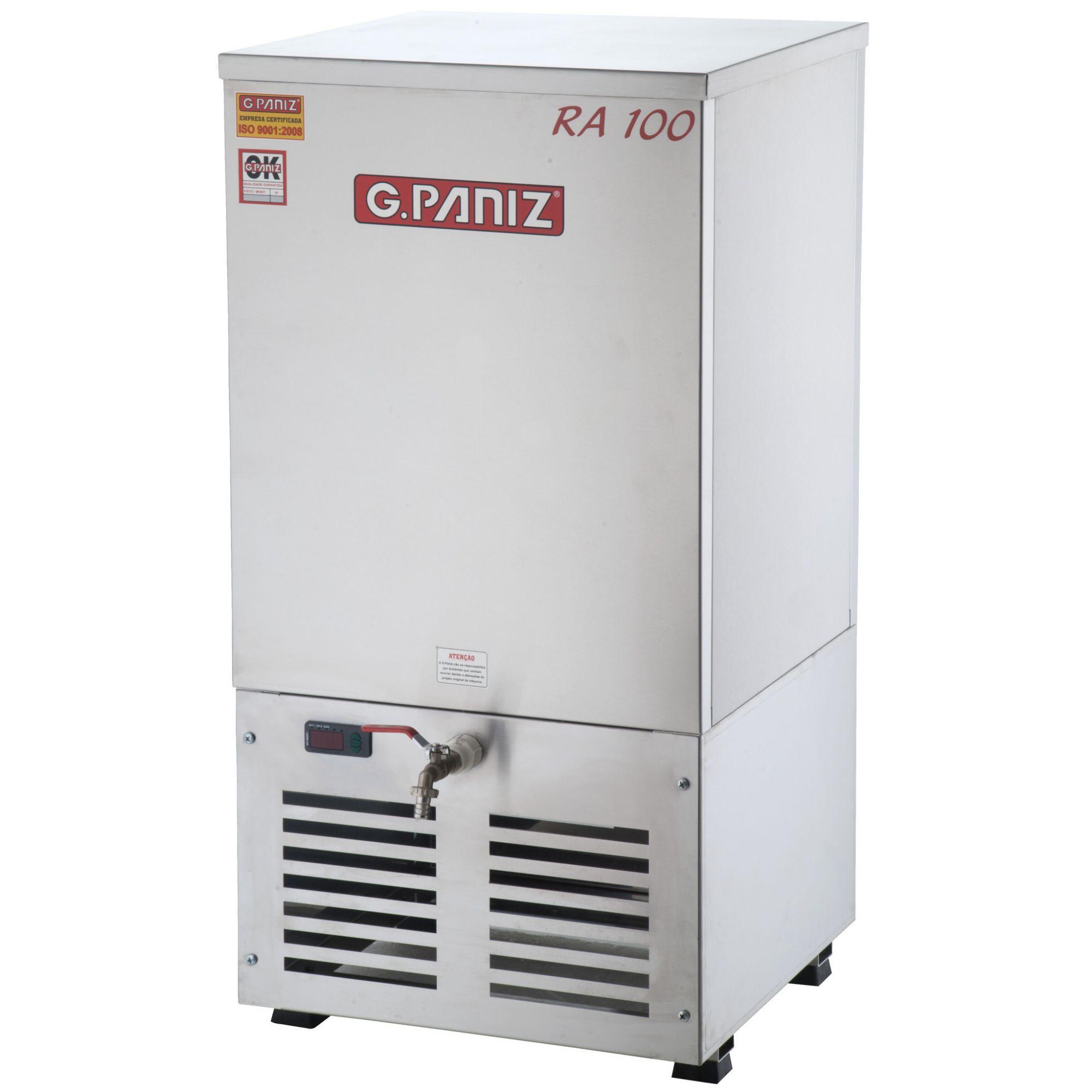 Resfriador de Água 100 Litros em Inox G.Paniz - RA 100 Plus  - Carmel Equipamentos