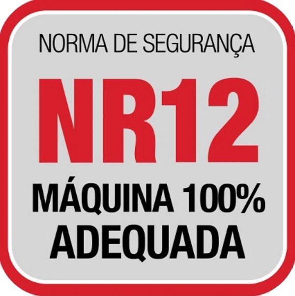 Serra Fita com Lâmina 2,82M 1,5HP Total Inox Bermar - BM52NR  - Carmel Equipamentos