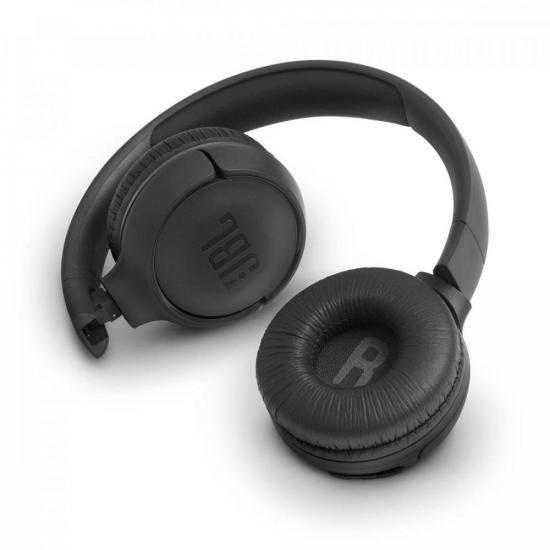 Fone de Ouvido Bluetooth On Ear Tune 500 Preto JBL