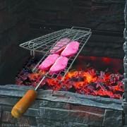 Grelha Plana Para Churrasqueira Carnes