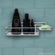 Suporte Para Sabonete E Shampoo Branco