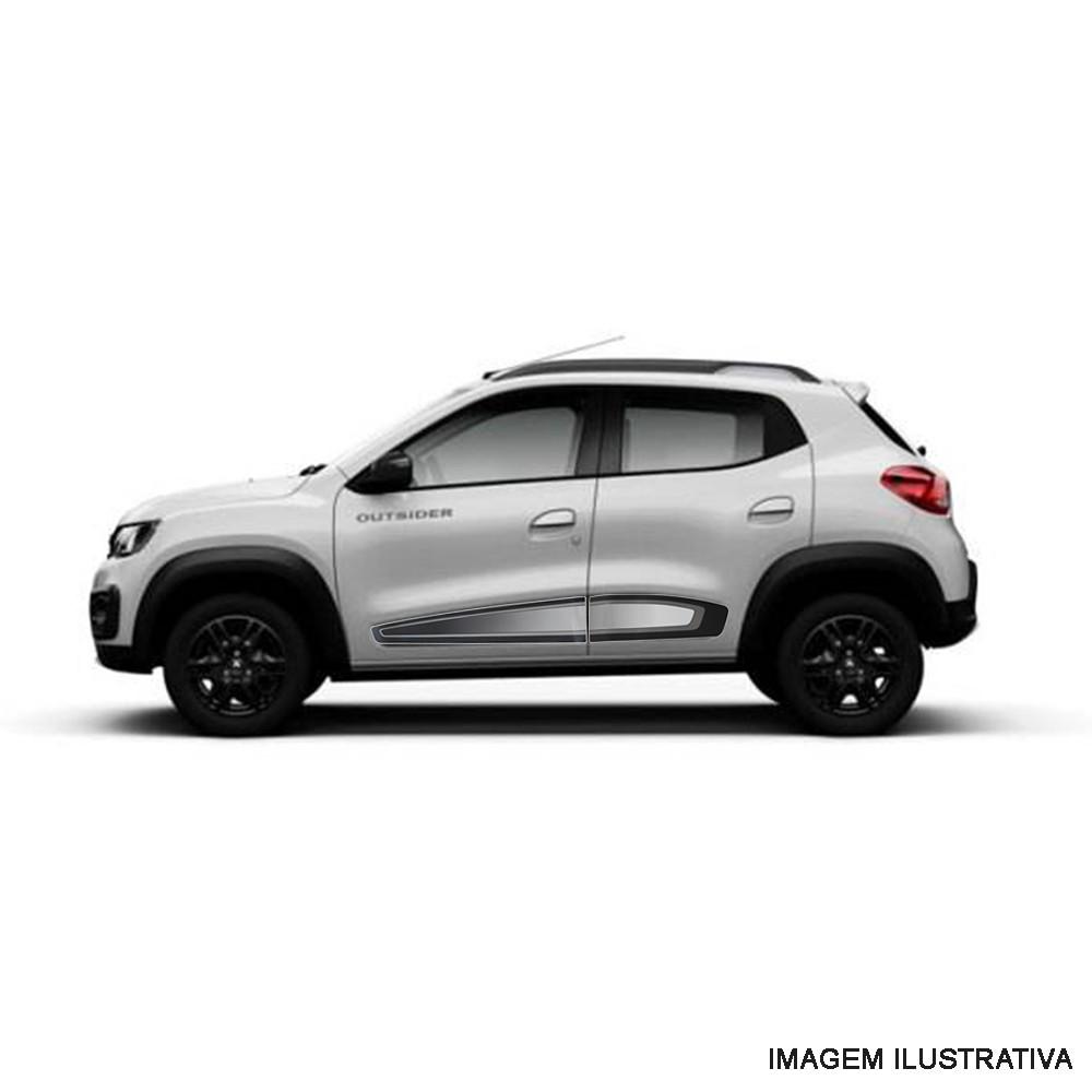 Conjunto De Faixas Laterais Renault Kwid Original