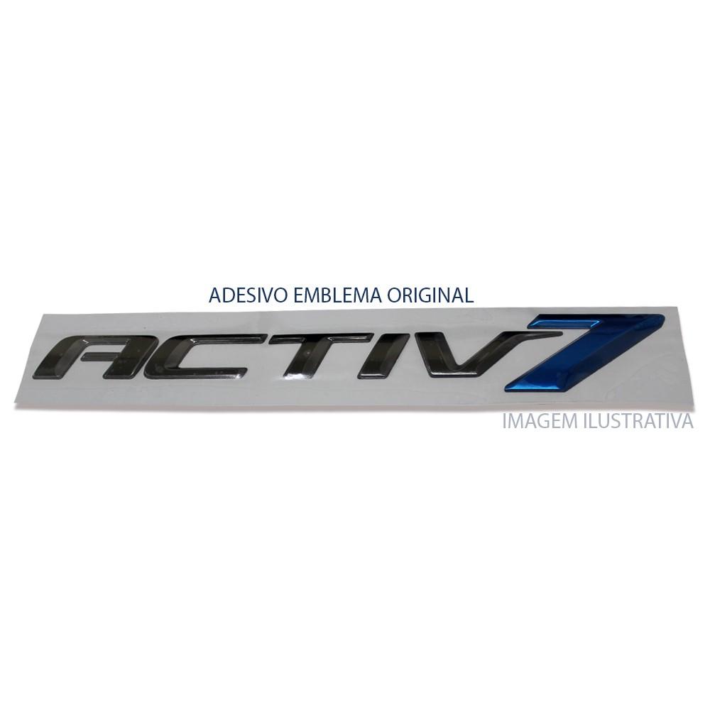 Emblema Adesivo Chevrolet Spin Active 7 Original