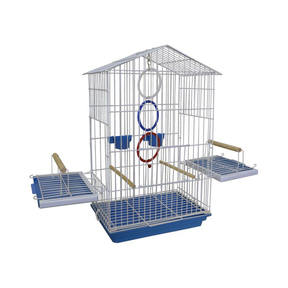 Gaiola Luxo Pássaros Calopsita Papagaio Maritaca com Argolas