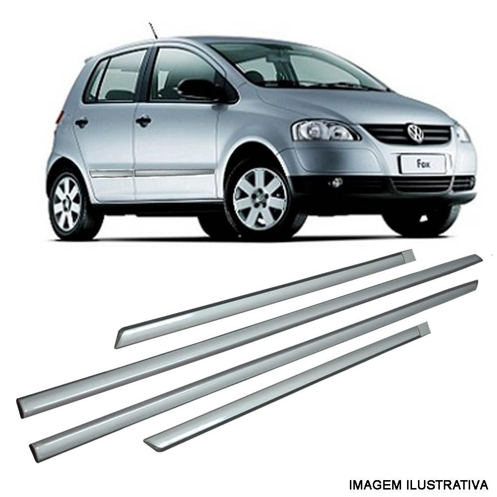 Jogo De Friso Volkswagen Gol Fox Voyage Prata Sirius Tipo Original