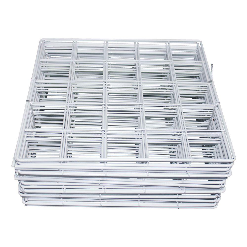 Kit 30 Telas aramadas Branco
