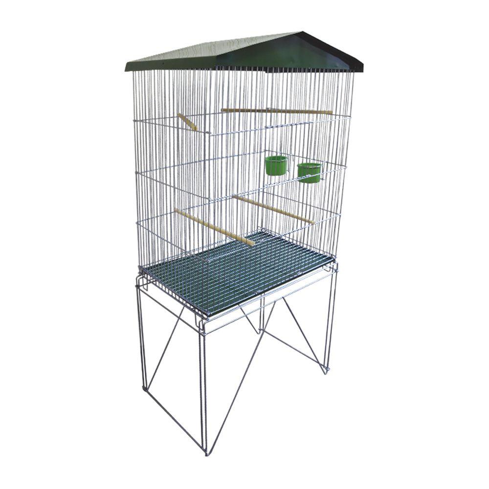 Viveiro Dobrável Desmontável para Pássaros Canários