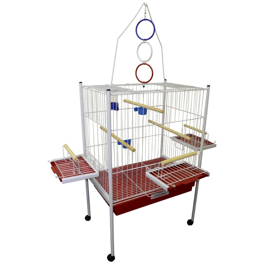 Viveiro Mini Explendor Luxo Para Calopsita e Aves Mansas