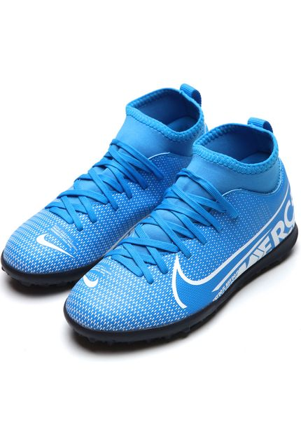 CHUTEIRA NIKE INFANTIL SOCIETY SUPERFLY JR - AT8156-414