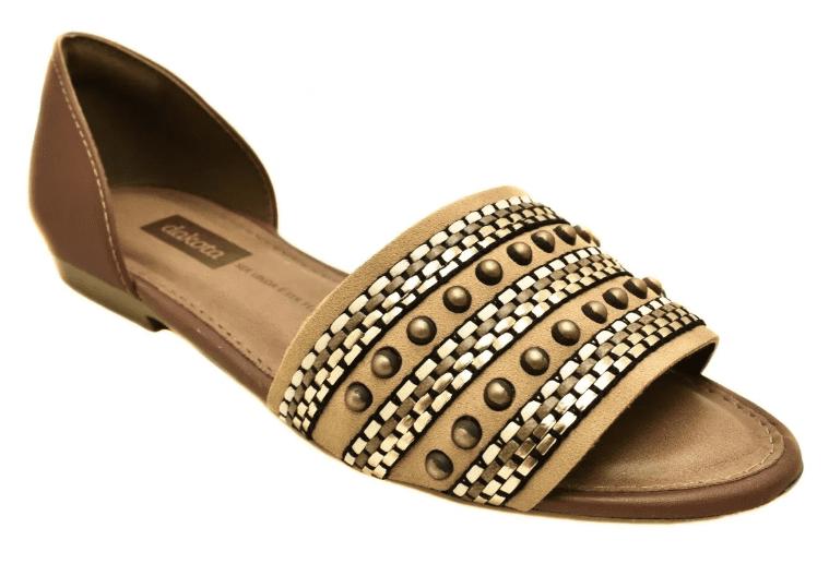 Sandalia Dakota Feminina Tachas - Z3741